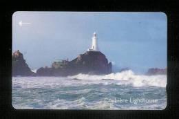 Télécarte  Phonecard Jersey Phate Corbiere Lighthouse - Port Simple Offert - Phares