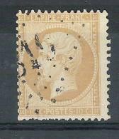 Empire N° 21, 10 C Bistre, Obl GC 819 De CERVIONE, Corse, INDICE 8, B/TB - 1862 Napoleon III