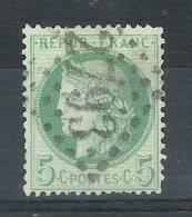 CERES N° 53 F, FOND LIGNE Obl GC 2793 De PASSY LES PARIS, Seine, Cote 15 Euros - 1871-1875 Ceres