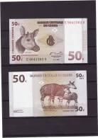 CONGO : 50 Cnt. Pk. 84. SC.NEUF.UNC. - Unclassified