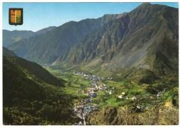 ANDORRE/ANDORRA - GENERAL VIEW OF THE ESCALDES AND ANDORRA LA VELLA/THEMATIC STAMP-SPORT - Andorra