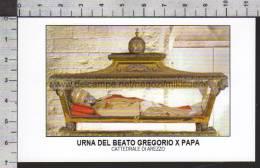 Xsa-10370 URNA DEL BEATO GREGORIO X PAPA CATTEDRALE DI AREZZO PIACENZA Santino Holy Card - Religión & Esoterismo