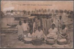 SENEGAL---SAINT LOUIS---Un Groupe De Blanchisseuses - Senegal