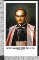 Xsa-10330 BEATO ZOLTAN LAJOS MESZLENYI VESCOVO UNGHERIA ESZTERGOM Santino Holy Card - Religione & Esoterismo