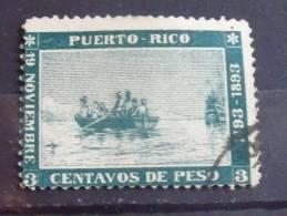 Puerto Rico Stamp # 133 Used  F - Puerto Rico