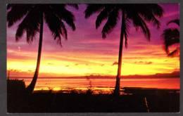 FI108) Fiji -  Beautiful Sunset - Fiji