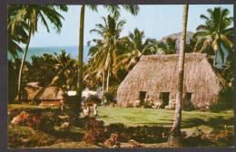 FI113) Fiji -  Bures In Fijian Village - Fidschi