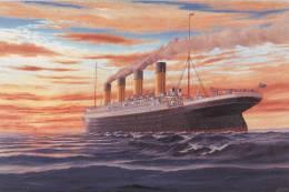 Le Titanic:  2 Cartes 10 X 15 - Catastrophes