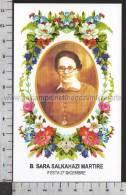 Xsa-10407 BEATA SARA SALKAHAZI MARTIRE KOSICE SLOVACCHIA Santino Holy Card - Religion & Esotericism