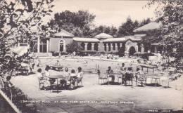 New York Saratoga Springs Swimming Pool At New York State Spa - Saratoga Springs