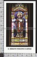 Xsa-10475 S. San VEDASTO VESCOVO DI ARRAS ARTOIS PERIGORD SAINT-VAAST Santino Holy Card - Religion & Esotericism