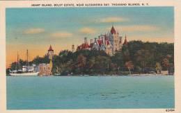 New York Thousand Island Heart Island Boldt Estate Near Alexandr