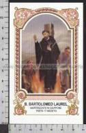 Xsa-10428 BEATO BARTOLOMEO LAUREL MARTIRIZZATO IN GIAPPONE NAGASAKI MEXICO Santino Holy Card - Religión & Esoterismo