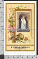 Xsa-10458 S. San CERBONE CERBONIO VESCOVO DI POPULONIA MASSA MARITTIMA Santino Holy Card - Religión & Esoterismo