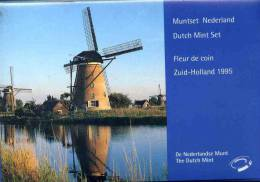 Pays-Bas Netherland Coffret Officiel BU 5 Cent à 5 Gulden Et Jeton 1995 KM SS34 - Pays-Bas