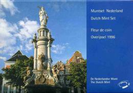 Pays-Bas Netherland Coffret Officiel BU 5 Cent à 5 Gulden Et Jeton 1996 KM SS40 - Pays-Bas