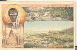 Publicité Produits Du Lion Noir Les Colonies Françaises  LA  Nouvelle Calédonie - Publicités