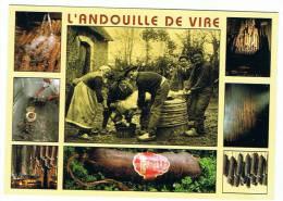 14- Vire -la Fabrication De La Fameuse Andouille De Vire - Vire