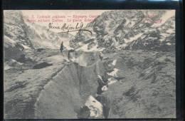 Russie --- Le Caucase --- Le Chemin Militaire  Osetien ----  Le Glacier Tcheiski - Rusland