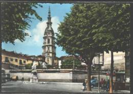 F4851 NOVARA PIAZZA CAVOUR E CUPOLA EDICOLE - Novara