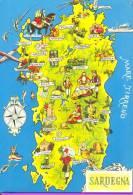 CA003 - Sardegna - Mappa Cartina Map - Altre Città