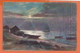 R138, Lac Léman, 8010, Charnaux Frères, Précurseur,  Circulée 1904 - VD Vaud