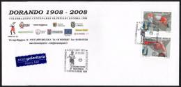 ITALIA CARPI (MO) 2007 - DORANDO PIETRI MARATONETA - OLIMPIADI LONDRA 1908 - LA CORSA DEL SECOLO - B.U. - Summer 1908: London