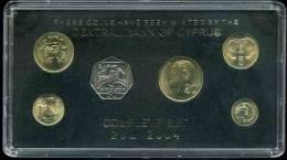 Chypre Cyprus Coffret Officiel BU 1 à 50 Cent 2004 - Chypre