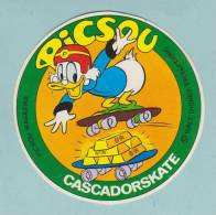 PICSOU CASCADOR SKATE DISNEY - AUTOCOLLANT (4646) - Autocollants