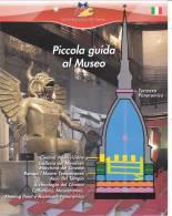 MUSEO NAZIONALE DEL CINEMA - TORINO - DEPLIANT - BROCHURES  PICCOLA GUIDA AL MUSEO - Pubblicitari