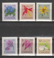 Canada 625 à 630 ** - 1952-.... Elizabeth II