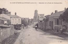 ¤¤  -   18   -   CORCOUE-sur-LOGNE   -   Saint-Etienne-de-Corcoué  -  Descente De La Route De Rocheservière    -  ¤¤ - Bouaye