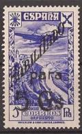 ESBE43-B083TAN. Spain.Espagne.TRANSPORTE DEL CORREO.avion.Historia Del Sello.BENEFICENCIA 1940 .(Ed.43**) - 1931-50 Nuevos & Fijasellos