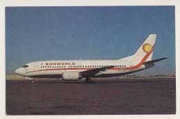 AI13 Aviation - Sunworld Boeing 737-3Q8 - 1946-....: Moderne