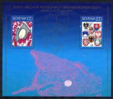 SLOVENIA 1997 Meeting Of Presidents Block  MNH / **.  Michel Block 5 - Slovenia