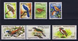 Madagascar , 1963 Michel 495 - 501  MH/* Birds Airmail