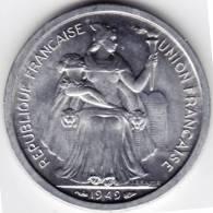 @Y@   FRANKRIJK / Nouvelle Caledonie   2 FRANCS 1949  UNC    (C2) - Frankreich