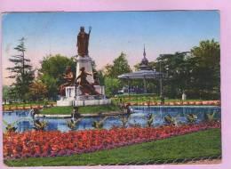 CPM 10*15/M355/TOULOUSE JARDIN DU GRAND ROND KIOSQUE 1942 - Toulouse