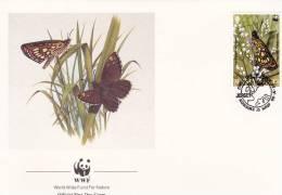 WWF - 080,22 - FDC - € 1,06 - 25-4-1989 - 13 - Jersey Wildlife - Jersey - Non Classés