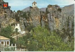 ESPAGNE . ALICANTE . CASTELL DE GUADALEST - Alicante