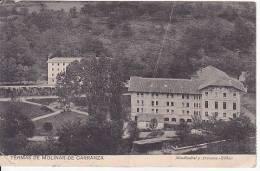 Spain Euskadi Termas De Molinar De Carranza Tarjeta Postal Ca1900 Con Viñeta Vintage Original Postcard  (W3_1024) - Autres