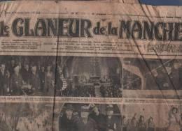 LE GLANEUR DE LA MANCHE 24 11 1934 -ST HILAIRE DU HARCOUET - SARRE - ISIGNY LE BUAT - PONT MAIN - LANDIVY - MORTAIN ... - Journaux - Quotidiens