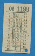 D363 / Tickets Billets  -  LONDON PASSENGER TRANSPORT BOARD - Great Britain Grande-Bretagne Grossbritannien - Busse