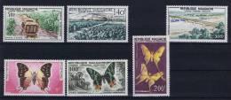 Madagascar , 1960 Michel 455 - 460 MH/*