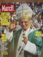 Paris Match 2056 Nîmes Noyée Et Sauvée, Jean-Paul II à Strasbourg, Michèle Morgan Gérard Oury - Non Classés