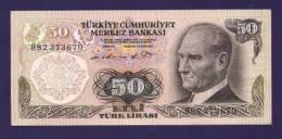 TURKEY 1970 Law,  Banknote, UNC,  50 Lira Km 124 - Turkey