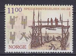 Norway 2007 Mi. 1620     11.00 Kr Europa CEPT Pfadfinder Scouts MNG - Norwegen