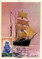 France / Maximum Cards / Explorers / Ships - Cartoline Maximum