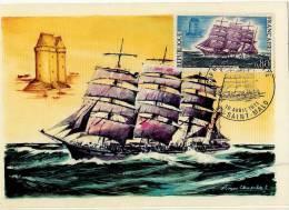France / Maximum Cards / Explorers / Ships / Antoinnette - 1970-79