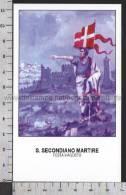 Xsa-10353 S. San SECONDIANO MARTIRE CENTUMCELLAE CIVITAVECCHIA TUSCANIA Santino Holy Card - Religion & Esotérisme